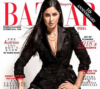 Drop-dead gorgeous! Katrina embraces the 'nude' look