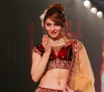 Urvashi's ramp walk is loaded with cuteness