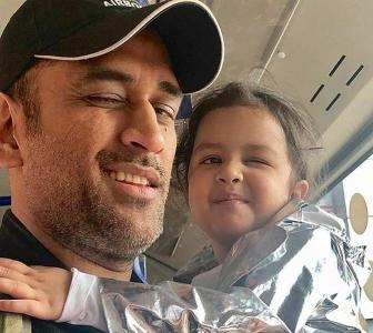 Why Dhoni is the COOLEST dad on Instagram
