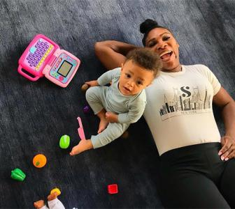 Serena Williams gives us stylish mom goals