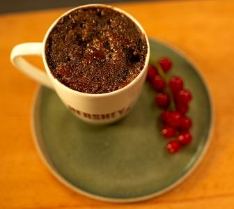 How to make a delicious mug cake in 6 mins