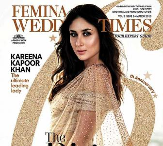 Kareena looks drop-dead gorgeous in gold