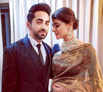Ayushmann Khurrana's wife goes bald, wins the Internet