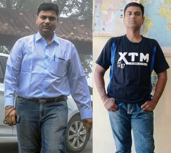Amazing! How a 42 YO lost 15 kg in just six months