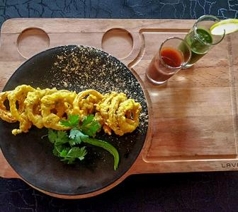 Monsoon special: How to make oats and onion fritters