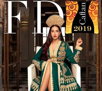Holy smokes! Nora Fatehi looks like a goddess in green