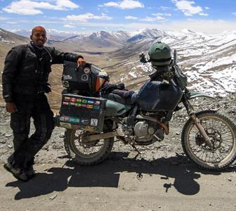 A Motorcycle Ride from Ladakh to Kashmir