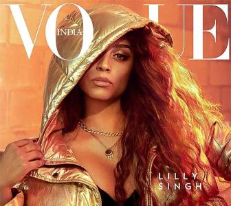 Lilly Singh turns up the heat in Vogue photo shoot