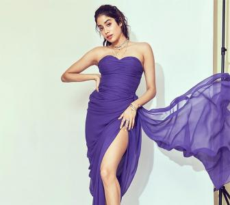 Too hot to handle! Janhvi's dress is so daring