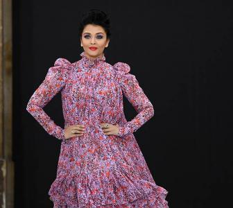 When Aishwarya walked the ramp at Paris Fashion Week