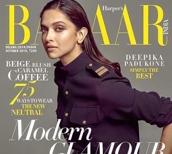 Deepika shows off perfect figure on mag cover
