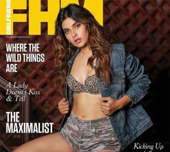 Karishma Sharma rocks a bralette on mag cover