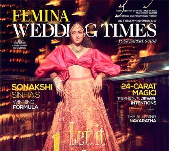 Ooh la la! Sonakshi dazzles as a bride