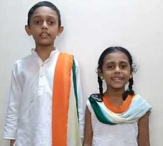 SEE: Cuties sing the Jana Gana Mana