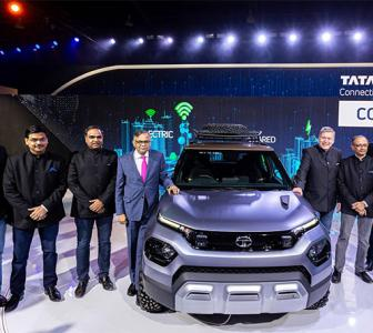 From Tata to Kia, auto majors show off the future
