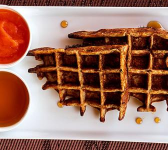 Simple yet healthy waffle recipes for breakfast
