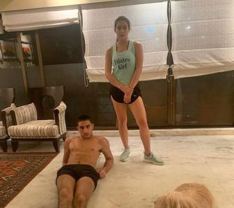 #SiblingGoals! How to work out with your sister
