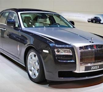 Rolls Royce's 'Ghost' ready to hit Indian roads