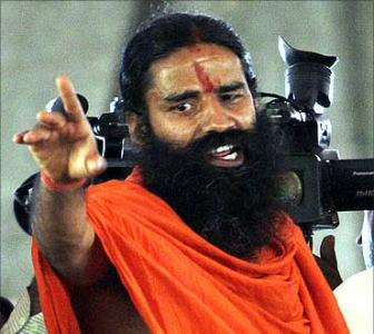 Ramdev blames Congress for 'loot and corruption'
