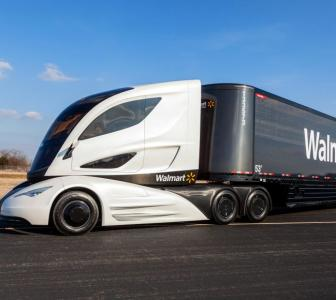 Walmart's 'truck of the future' will blow your mind