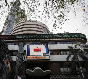 Sensex loses 80 points; Financial shares drag