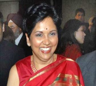Indra Nooyi thanks her mother for her success