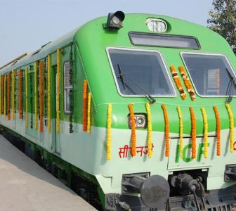 India's first CNG train flagged off