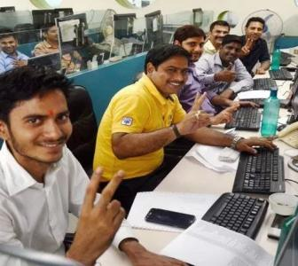 Sensex rallies 429 points; Nifty tops 10,550 level
