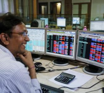 Sensex soars 466 points on strong global cues
