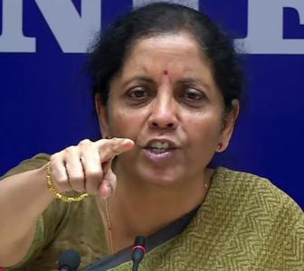 Sitharaman rebuts Rahul charge: No loan is waived off