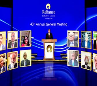 Reliance hosts world's largest virtual AGM