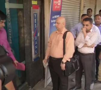 Depositors queue up as Yes Bank's ATMs shut down