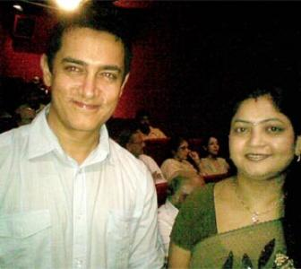 Spotted! Aamir Khan in a Delhi theatre
