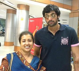Spotted: Rana Daggubati at Chennai airport