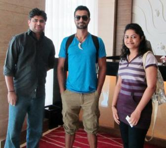 Spotted: Ashmit Patel in Goa