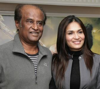 'My father Rajinikanth didn't encourage me to become an actress'