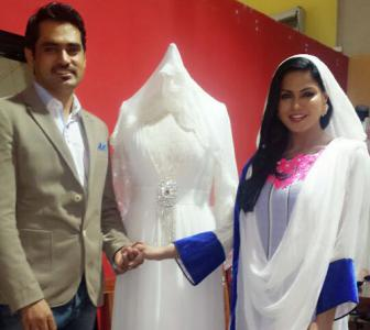 PHOTO: Veena Malik gears up for a white wedding