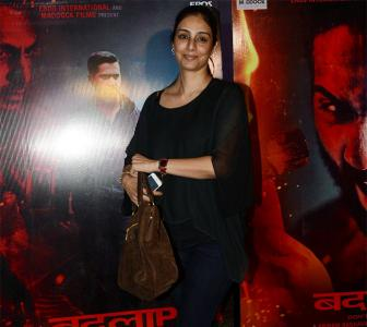PIX: Tabu, David Dhawan watch Badlapur screening