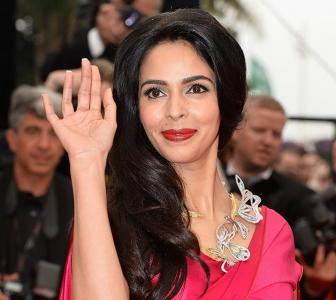 PIX: Mallika Sherawat arrives in Cannes