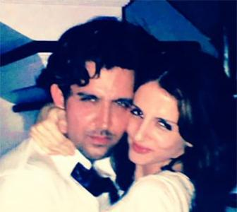Sussanne Khan: I support Hrithik, pics are photoshopped