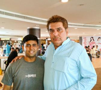 Spotted: Raza Murad in Lucknow