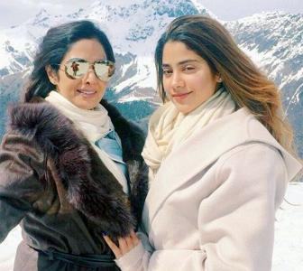 PIX: Sridevi holidays with daughters Jhanvi and Khushi