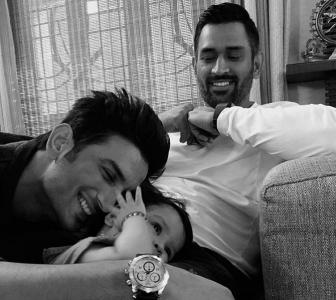 Sushant, Ziva, Dhoni: A smile amidst the sadness