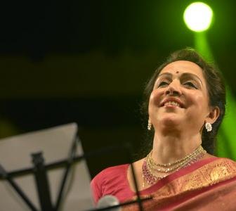 Watch: Hema Malini sings for special Janmashtami album