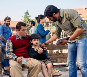 Behind the scenes of Salman's Tubelight