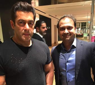 Spotted: Salman Khan