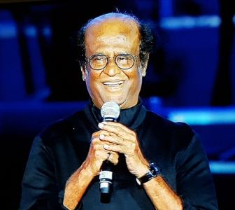 PIX: Rajinikanth launches 2.0's music in Dubai