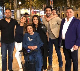 Krishna Raj Kapoor: The last pictures