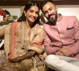#SonamKiShaadi: The mehendi ceremony