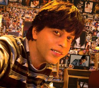 Whose posters do SRK, Salman paste on their walls?